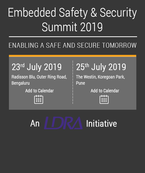 Embedded Safety & Security Summit 2019 | ESSS 2019